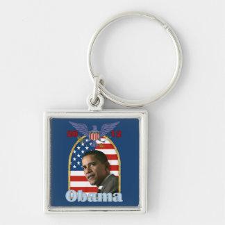 Reelección Barack Obama para 2012 Llaveros Personalizados