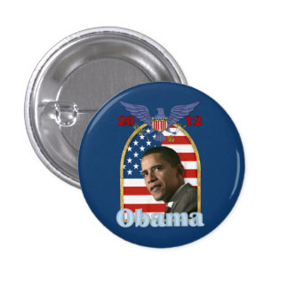 Reelección Barack Obama para 2012 Pin