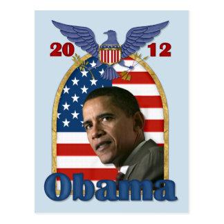 Reelección Barack Obama para 2012 Tarjetas Postales