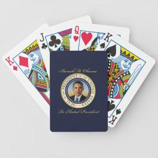 Reelección conmemorativa de presidente Barack Baraja Cartas De Poker