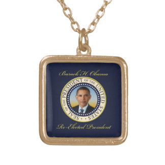 Reelección conmemorativa de presidente Barack Colgante Cuadrado