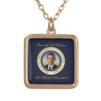 Reelección conmemorativa de presidente Barack Collar Dorado