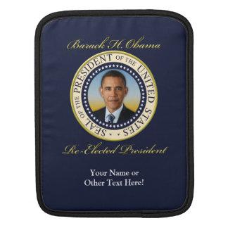 Reelección conmemorativa de presidente Barack Mangas De iPad