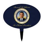Reelección conmemorativa de presidente Barack Obam Decoraciones Para Tartas