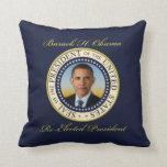 Reelección conmemorativa de presidente Barack Obam Almohada