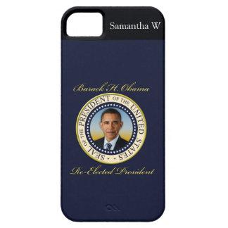 Reelección conmemorativa de presidente Barack Obam iPhone 5 Fundas