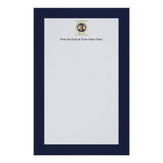 Reelección conmemorativa de presidente Barack Obam Papelería De Diseño