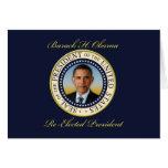 Reelección conmemorativa de presidente Barack Obam Felicitaciones
