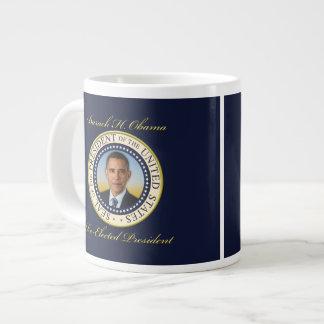 Reelección conmemorativa de presidente Barack Obam Taza Grande