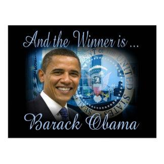 Reelección de Barack Obama Tarjeta Postal