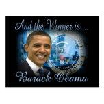 Reelección de Barack Obama Tarjetas Postales