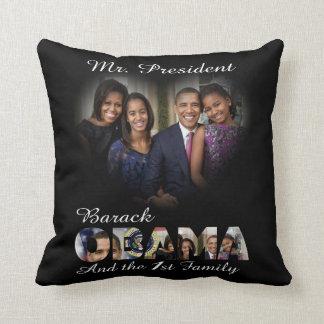 Reelección de presidente Barack Obama de los 2012 Cojín Decorativo