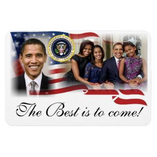 Reelección de presidente Barack Obama de los 2012  Imán Rectangular