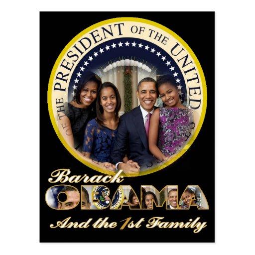 Reelección de presidente Barack Obama de los 2012 Postal