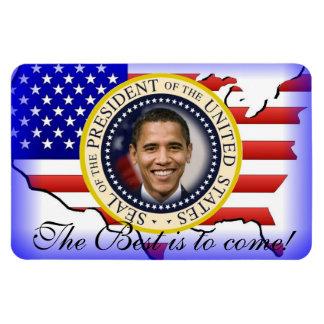 Reelección de presidente Barack Obama Imanes De Vinilo
