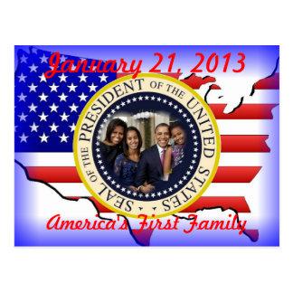 Reelección de presidente Barack Obama Tarjeta Postal