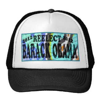 Reelect Barack Obama Mesh Hats