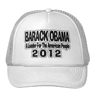 Reelect Barack Obama Hats