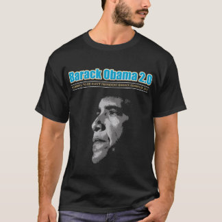 ReElect BARACK OBAMA in 2012 B&W T-Shirt