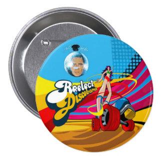 Reelect DiscObama Pinback Button