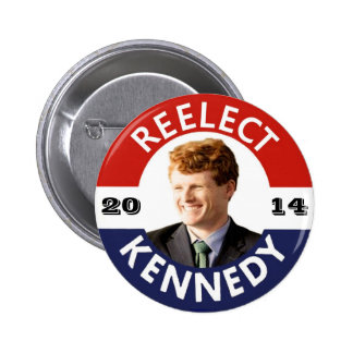 REELECT JOE KENNEDY 2014 PINBACK BUTTONS