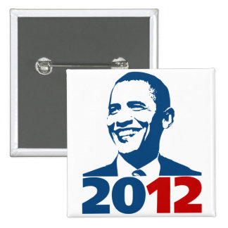 ReElect Obama 2012 Pinback Button