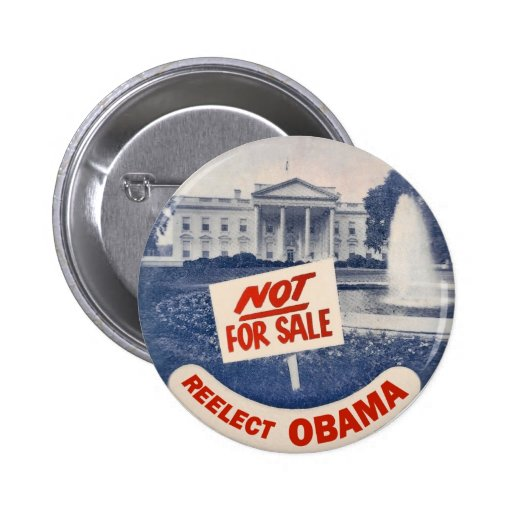 Reelect Obama 2 Inch Round Button