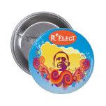 ReELECT Obama Pinback Button