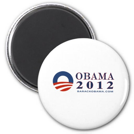 Reelect President Obama 2012 2 Inch Round Magnet
