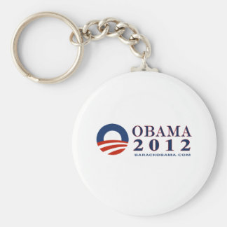 Reelect President Obama 2012 Basic Round Button Keychain