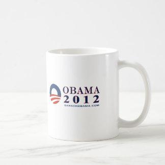 Reelect President Obama 2012 Coffee Mug