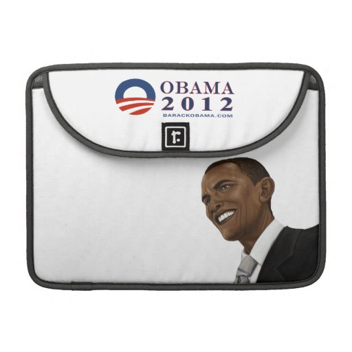 Reelect President Obama 2012 Sleeve For MacBook Pro