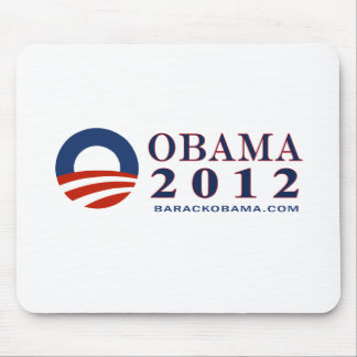Reelect President Obama 2012 Mouse Pad