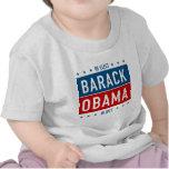 Reelija a Barack Obama en 2012 Camisetas