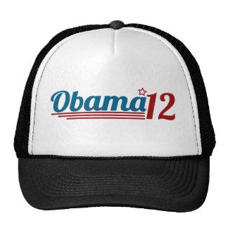 Reelija a Obama '12 Gorras De Camionero