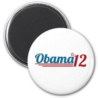 Reelija a Obama '12 Imán Redondo 5 Cm