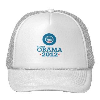 Reelija a Obama 2012 Gorra