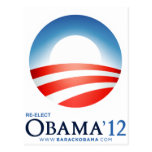 Reelija a Obama 2012 Postal