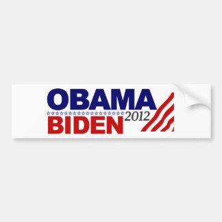 Reelija a Obama Biden '12 Etiqueta De Parachoque