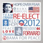 Reelija a Obama Impresiones