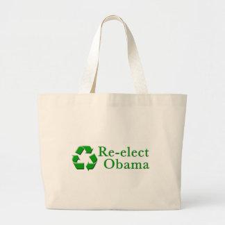 Reelija a Obama reciclan el bolso Bolsas
