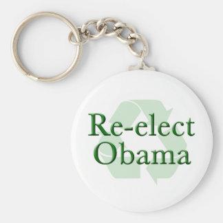 Reelija a Obama reciclan llavero