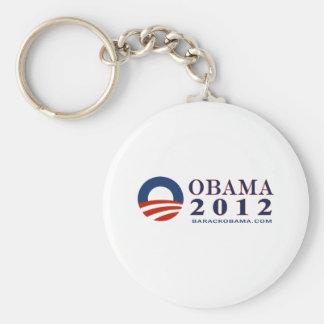Reelija a presidente Obama 2012 Llavero