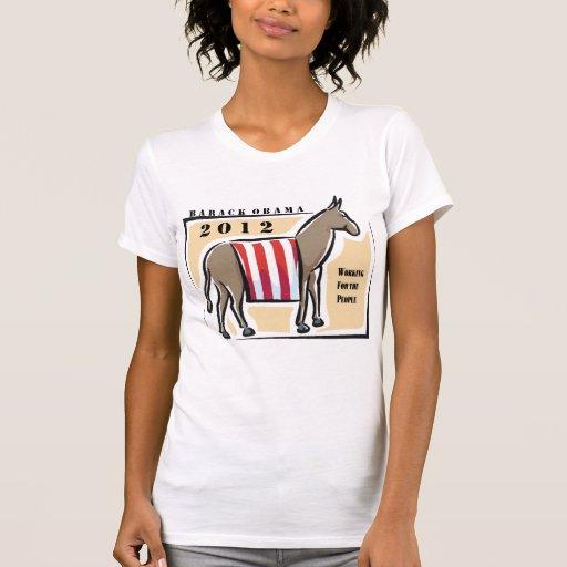 Reelija a presidente Obama Camiseta