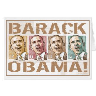 Reelija a presidente Obama Election 2012 Tarjetón