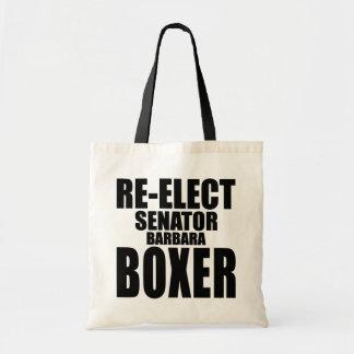 Reelija a senador Barbara Boxer Bolsas