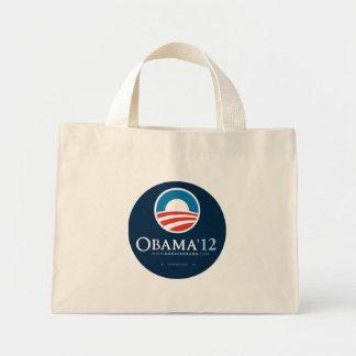 Reelija el bolso de presidente Barack Obama 2012 Bolsa De Tela Pequeña