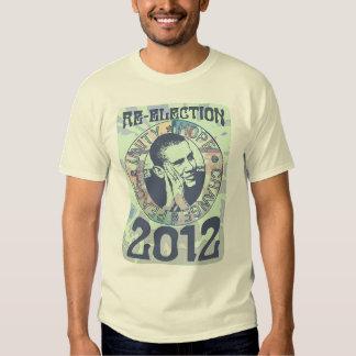 Reelija el engranaje de presidente Obama Election Camisas