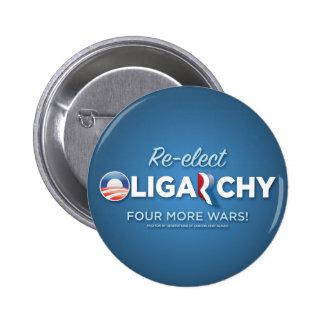 Reelija la oligarquía 2012 pins