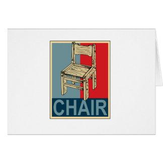Reelija la silla 2012 tarjeton